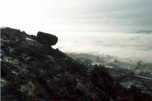 The Roaches on a Misty Day